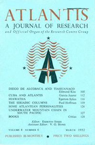 Atlantis, a journal of research